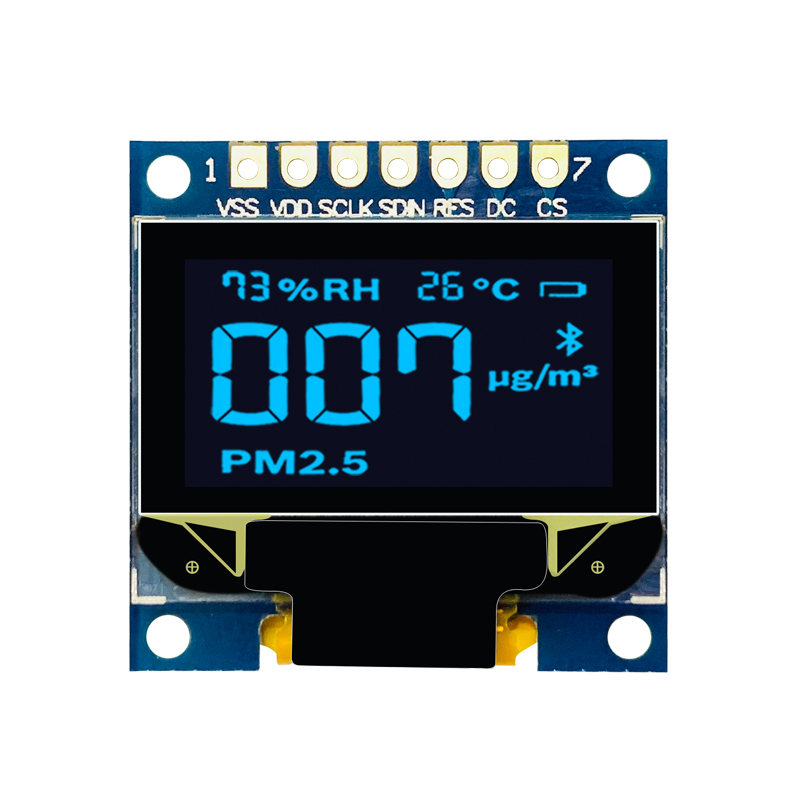 0.96 inch 128*64 White OLED  Display Module I2C SPI 7pin interface SSD1306  Driver Chip for Arduino DIY Kit