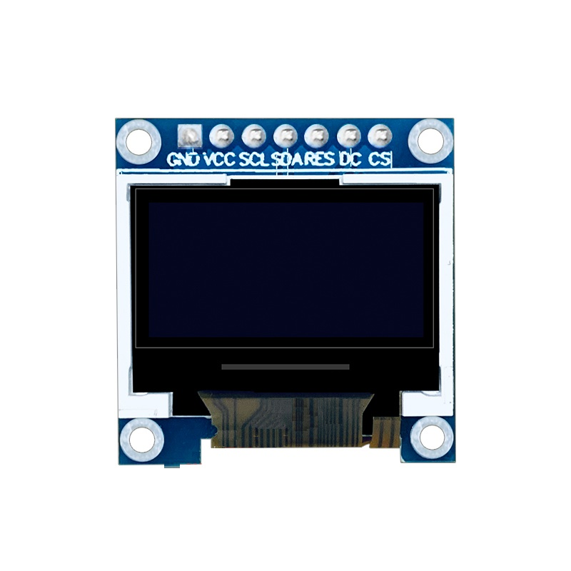 0.96 inch TFT Display Module 8Pin SPI Interface 65K full color TFT LCD module ST7735 driver IC 80 * 160 resolution