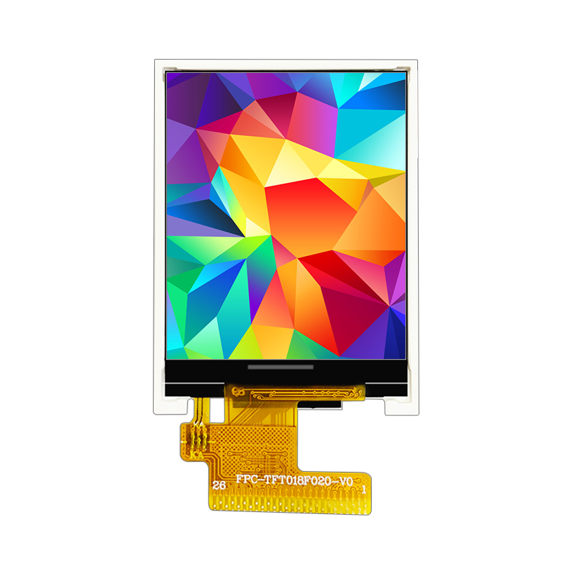 1.77 inch TFT LCD display with 128x160 pixels 26Pins MCU interface  ST7735 driver IC