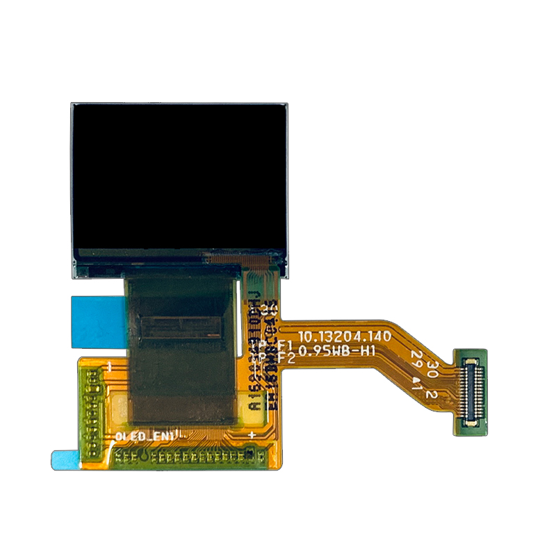 0.95 amoled square screen oled 0.95'' RM67160 Driver ic  screen display smart wearable home automation screen