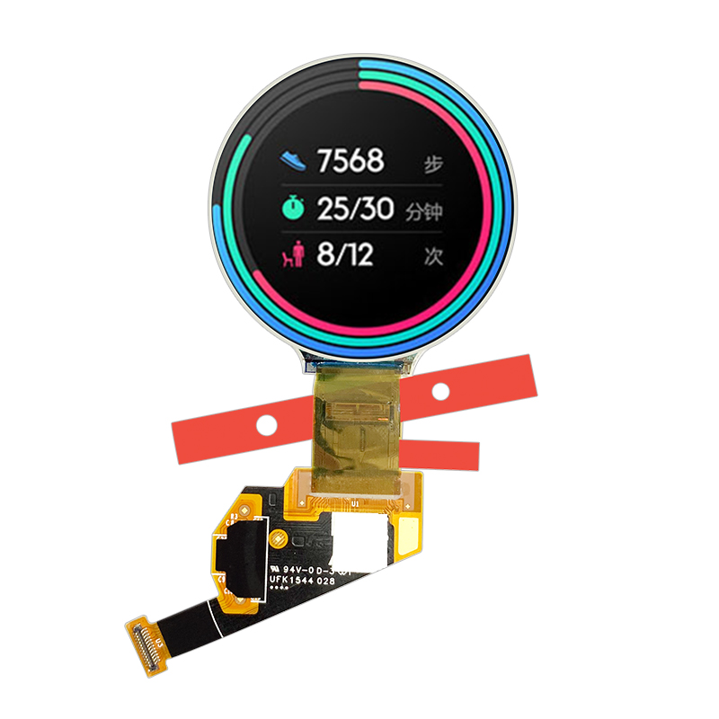 Hot sale 1.39 Inch 400*400 MIPI interface 24 pins colorful AMOLED Round  Display