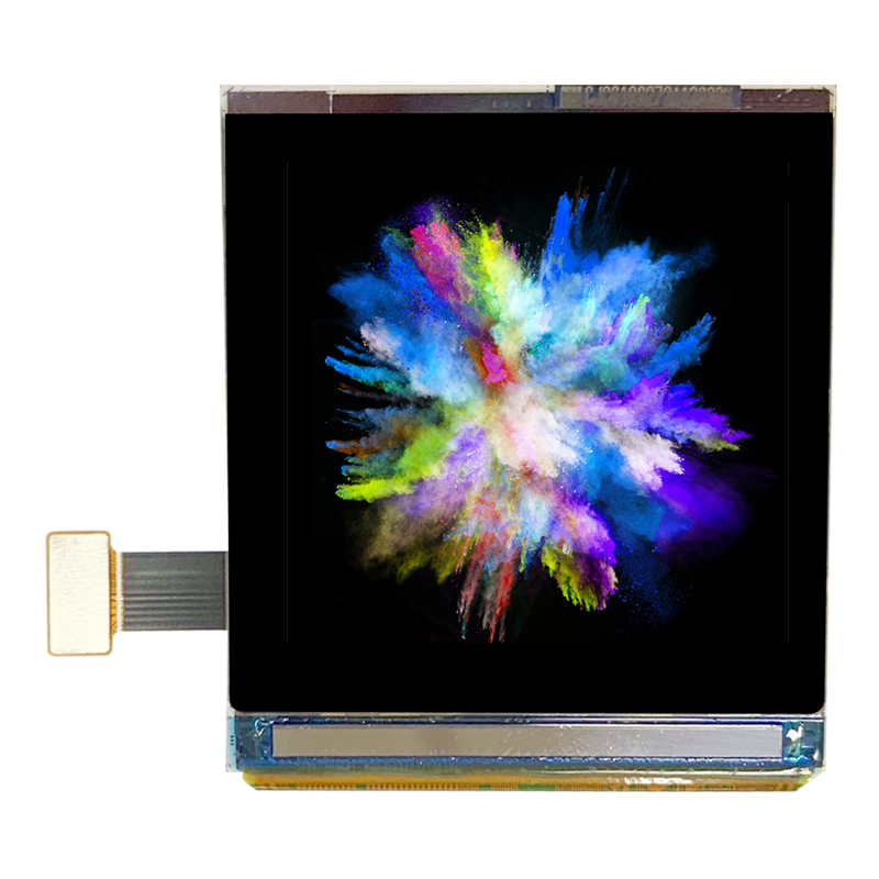 1.63 inch 20pin Colorful  Amoled Screen Module RM69032 Drive I2C Compatible for  MIPI Interface 320*320 Dots